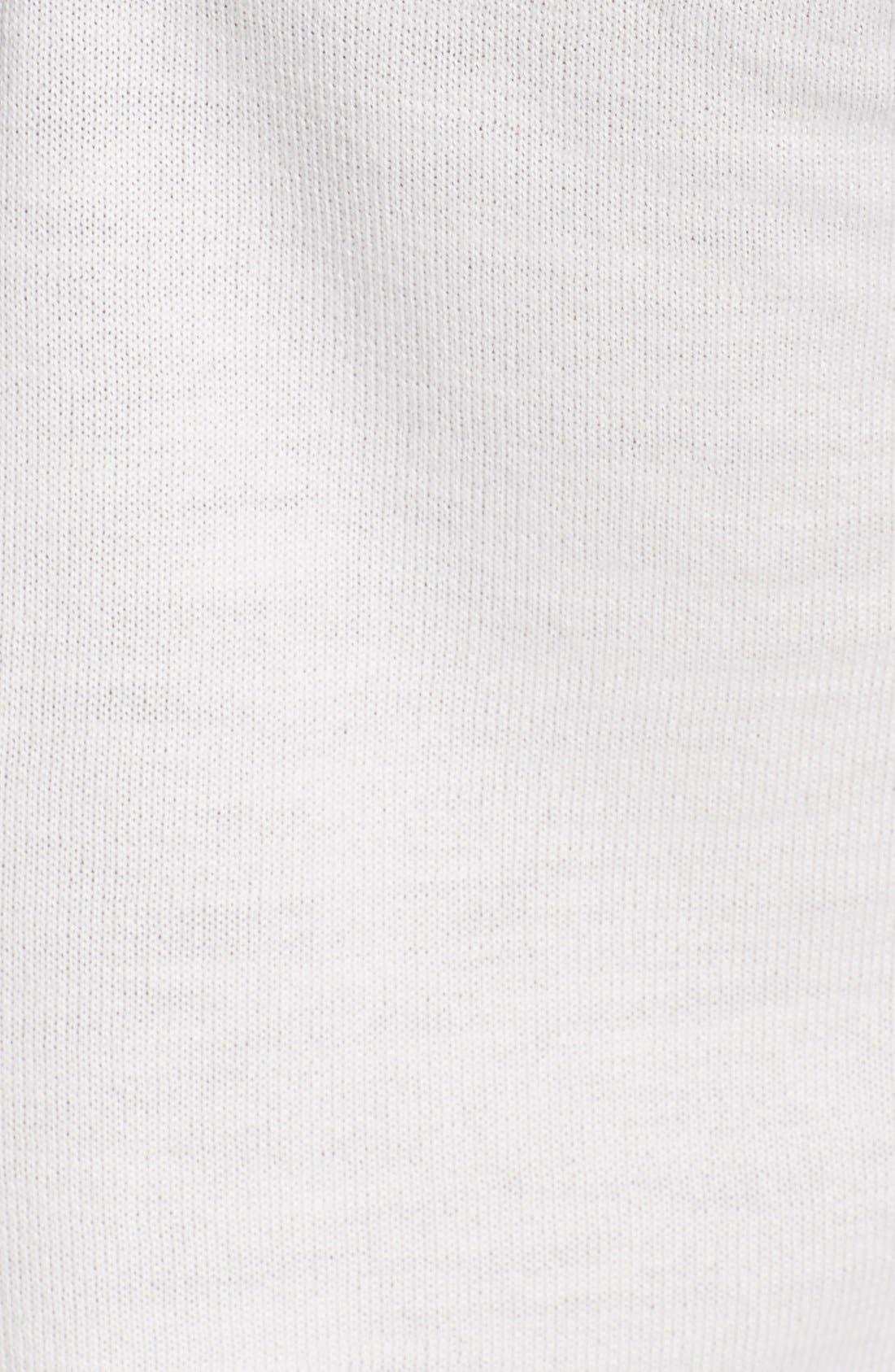 Alternate Image 3  - Burberry Brit Check Pattern Wool Sweater