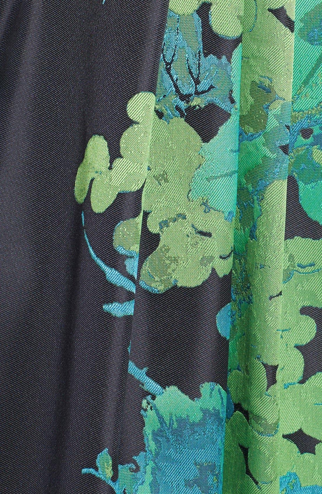 Alternate Image 3  - Eva by Eva Franco 'Betty' Floral Print Fit & Flare Dress