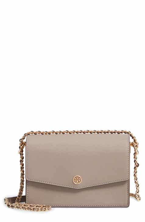 0934c32b6ee0 Tory Burch Mini Robinson Convertible Leather Shoulder Bag