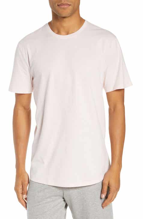 fc4e7952b0c Nordstrom Men s Shop Solid Crewneck Lounge T-Shirt