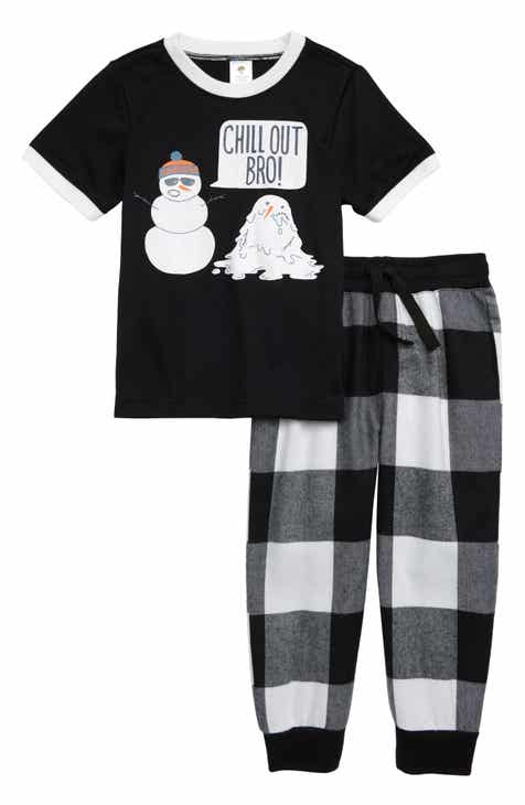 Tucker + Tate Graphic Two-Piece Pajamas Set (Toddler Boys a4763d2f2