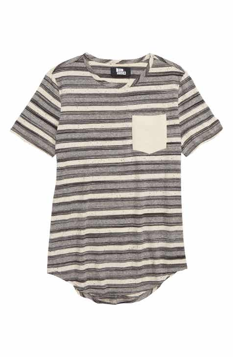 Elwood Stripe Jersey T-Shirt (Big Boys)