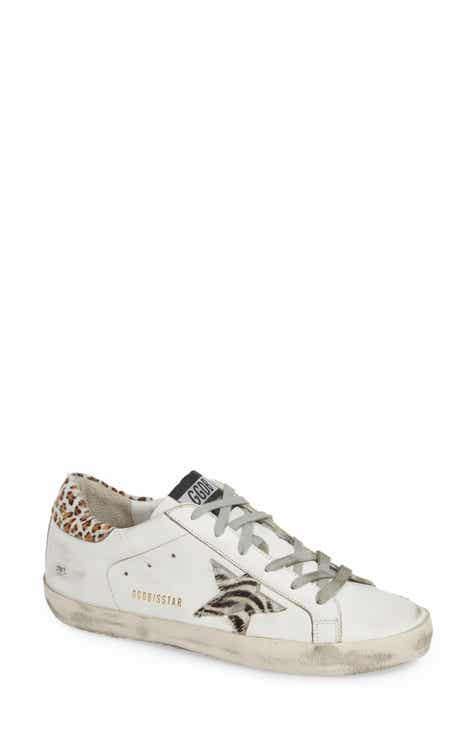 466cc4001cbb Golden Goose Superstar Genuine Calf Hair Sneaker (Women)