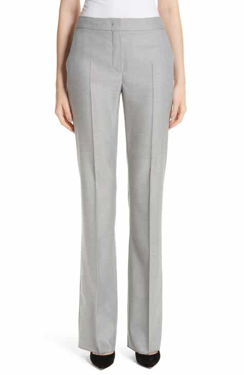 Max Mara Alessia Stretch Wool & Silk Pants by MAX MARA