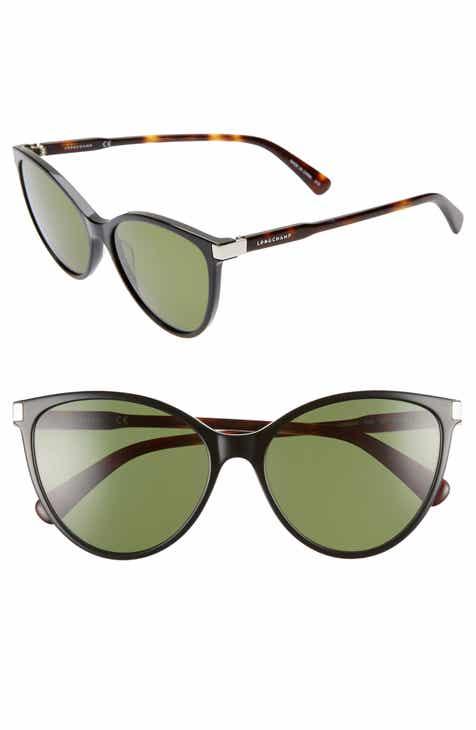 d9b24cd40e Longchamp Le Pliage 56mm Cat Eye Sunglasses