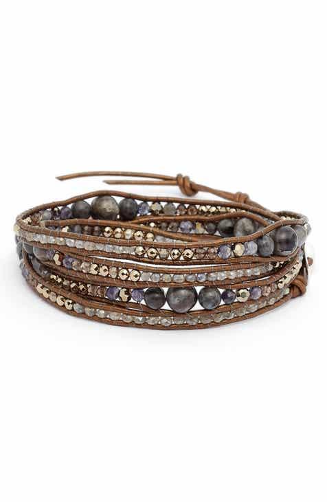 Chan Luu Iolite Mix 5 Wrap Bracelet