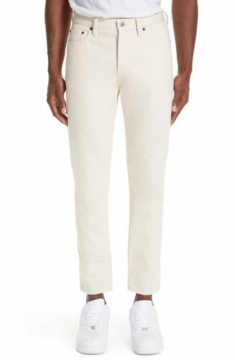 Acne Studios North Skinny Fit Jeans (Ivory)