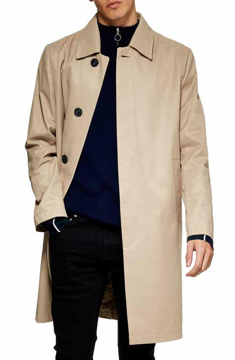 892d948d1b Topman Single Breasted Trench Coat