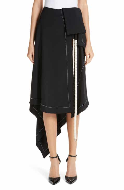 MONSE Rope Detail Asymmetrical Skirt by MONSE