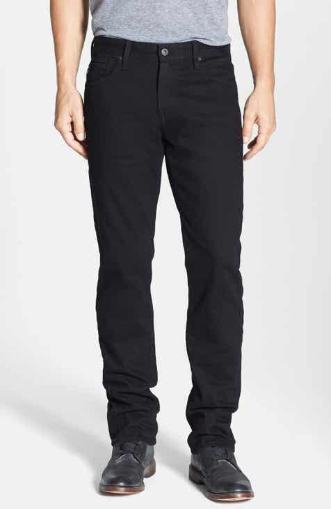 AG Graduate Slim Straight Leg Jeans (Blackbird) 1c5256c6e88