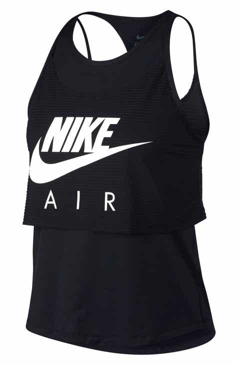 Nike Air Layered Graphic Running Tank
