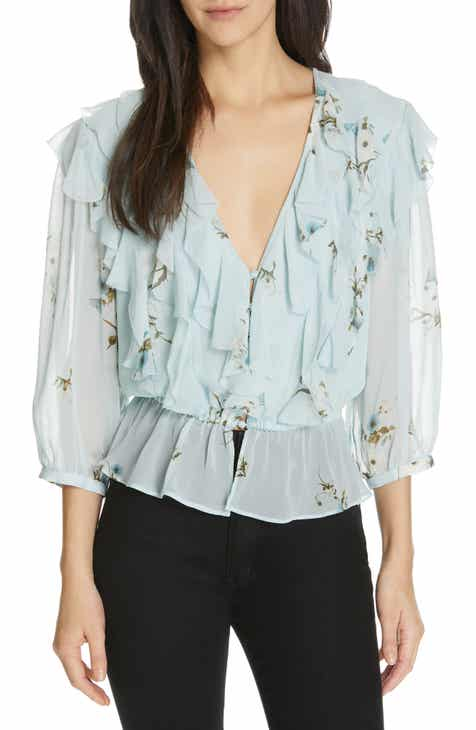 f251c25c6c76 Joie Arlene Floral Silk Blouse