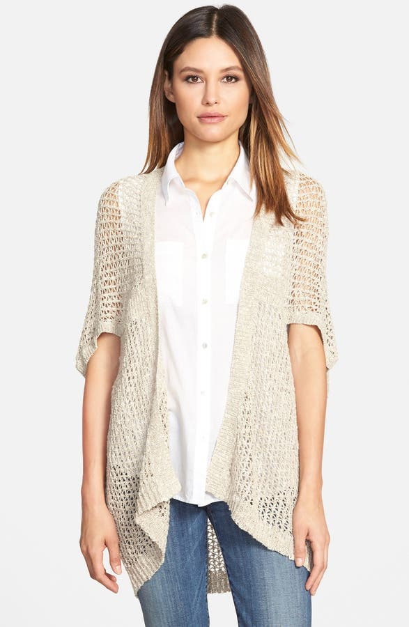 Eileen Fisher Kimono Sleeve Cardigan (Regular & Petite) | Nordstrom