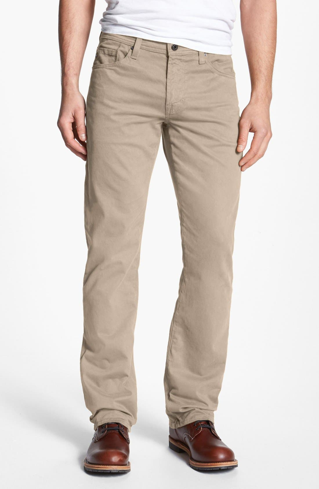 Alternate Image 1 Selected - AG 'Protégé SUD' Straight Leg Pants