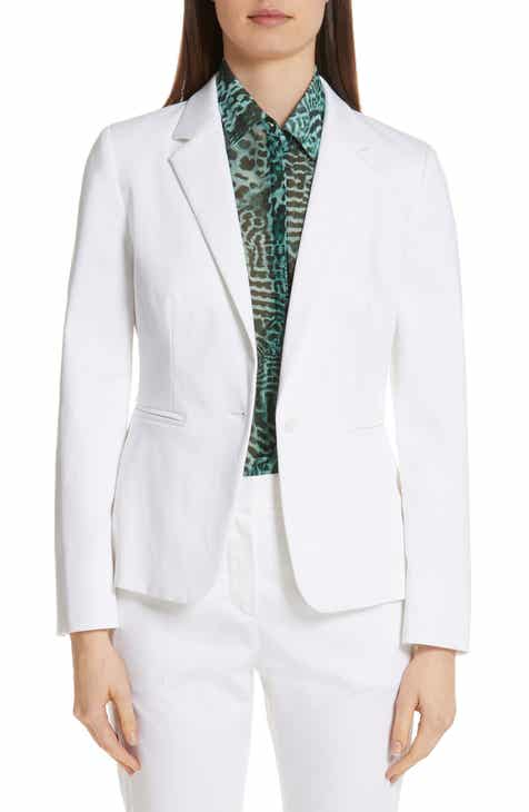 Max Mara Anselmo Stretch Cotton Jacket by MAX MARA