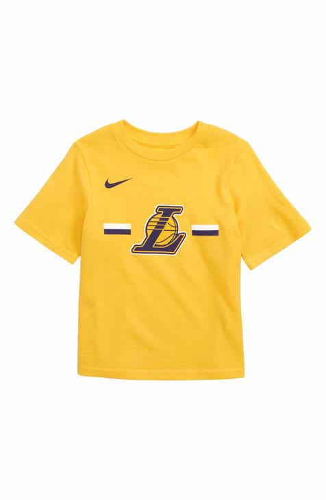 Nike Los Angeles Lakers Dri-FIT T-Shirt (Big Boys)