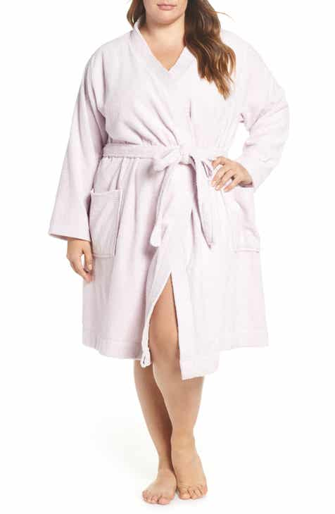 fcfc12e2df5b UGG® Lorie Terry Short Robe (Plus Size)