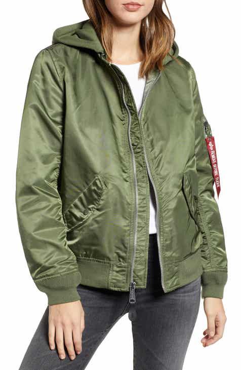Women s Alpha Industries Coats   Jackets  e9225ba65