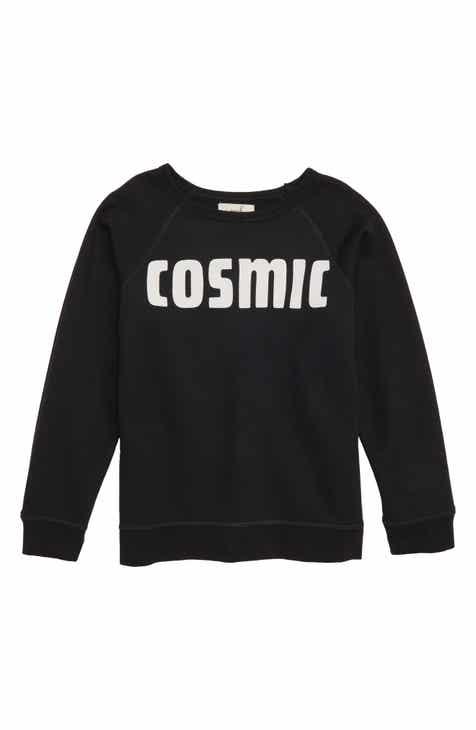 Peek Aren't You Curious Cosmic Sweatshirt (Toddler Boys, Little Boys & Big Boys)