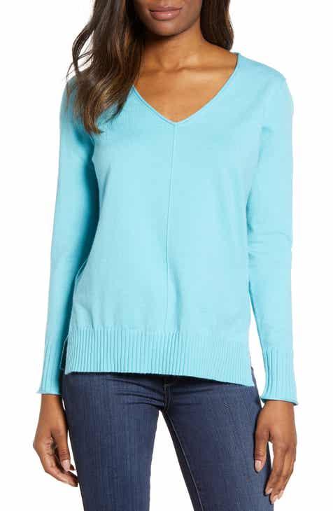 7a3cf34a61 Caslon® Side Slit Sweater (Regular   Petite)