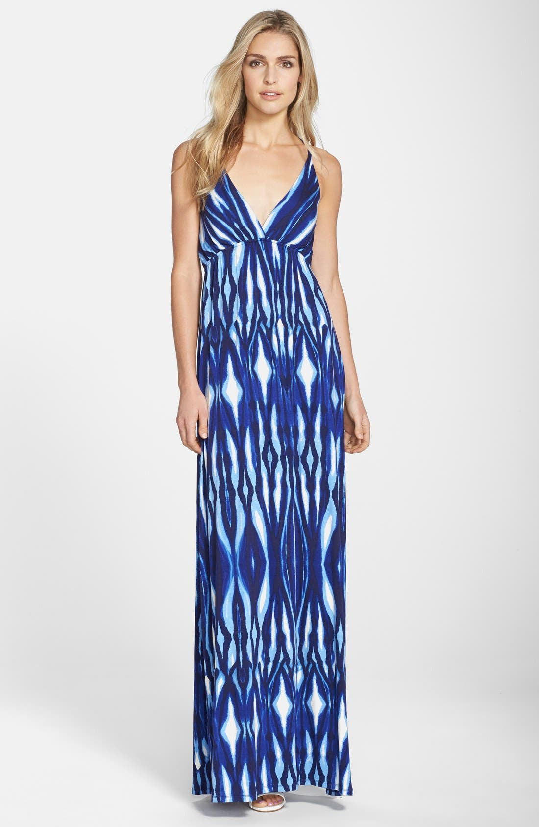 Main Image - Felicity & Coco Print Maxi Dress (Regular & Petite) (Nordstrom Exclusive)