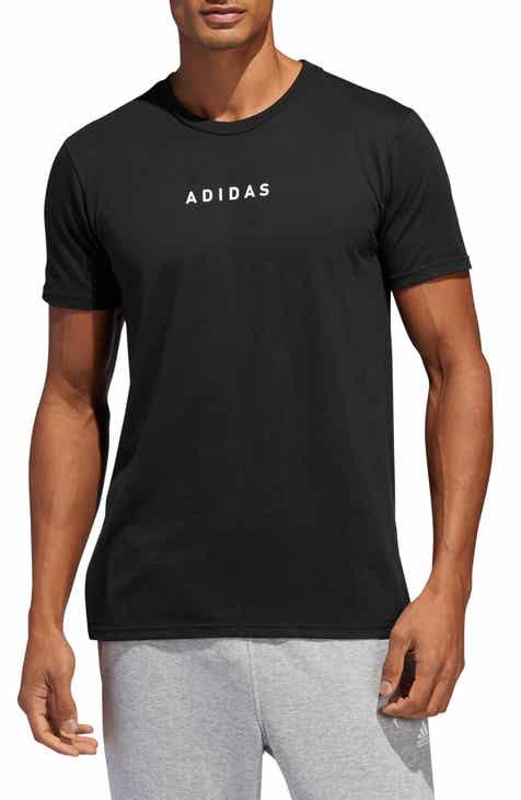 5df054534315ab adidas 3-Stripes Detail T-Shirt