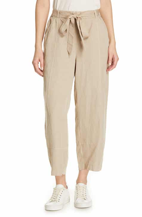 Eileen Fisher Lantern Twill Ankle Pants by EILEEN FISHER