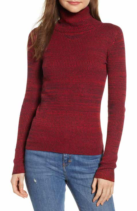 b0a00ade3b6a Women s Red Turtleneck Sweaters