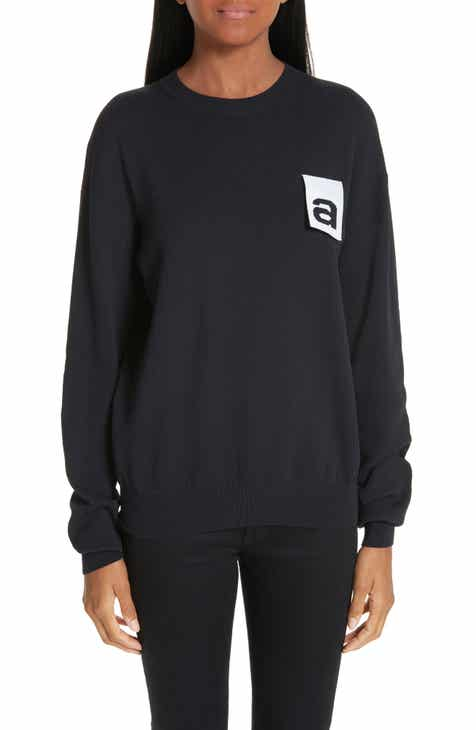 Alexander Wang Logo Tag Sweater by ALEXANDER WANG