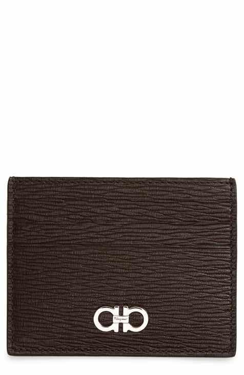 Salvatore Ferragamo Revival Leather Card Case 334d02e0da1