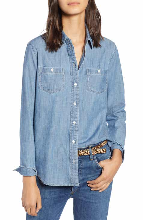 1901 Classic Chambray Shirt (Regular & Petite)