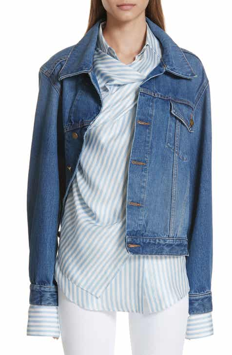 MONSE Twisted Denim Jacket by MONSE