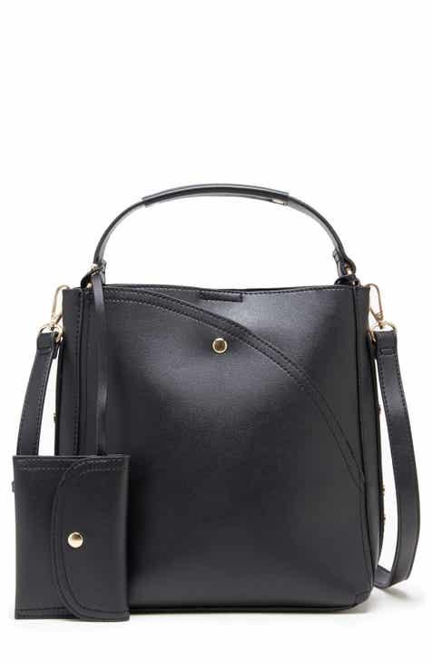 00c51a54f2a7 Sole Society Hingi Faux Leather Shoulder Bag