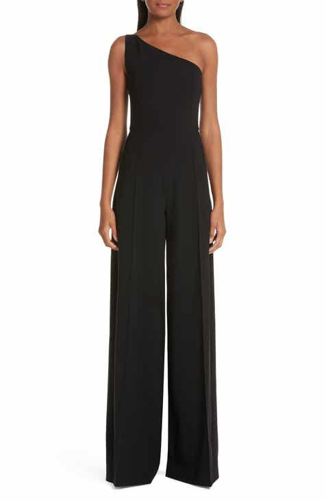 Christian Siriano One-Shoulder Jumpsuit by CHRISTIAN SIRIANO