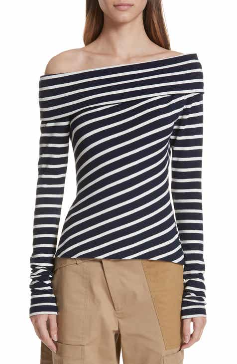 Milly Cutout Sleeve Sweater by MILLY