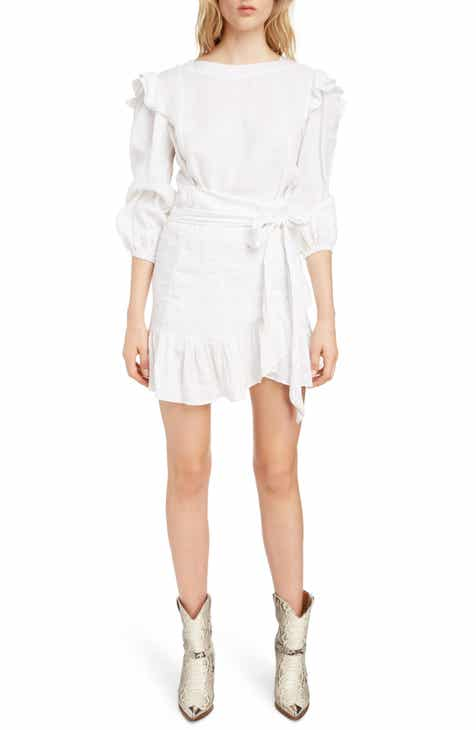 e08be7b7c4 Isabel Marant Étoile Telicia Ruffle Linen Dress