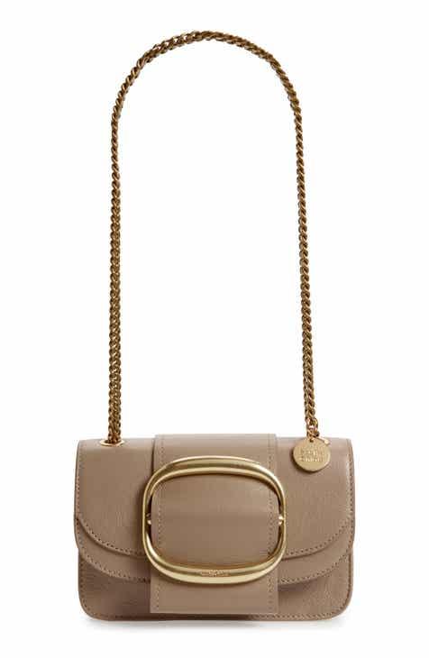 a3dd0ad11d7e See by Chloé Hopper Leather Shoulder Bag
