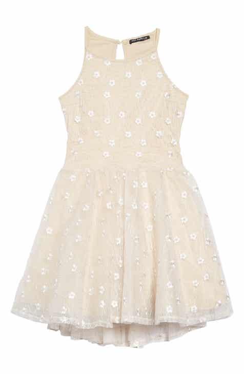Miss Behave Josie Alençon Floral Dress (Big Girls)