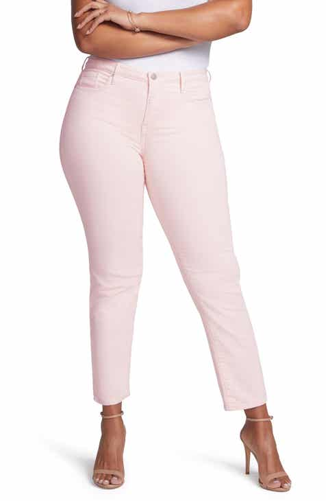 0232334a14d50 Curves 360 by NYDJ Slim Straight Leg Ankle Jeans