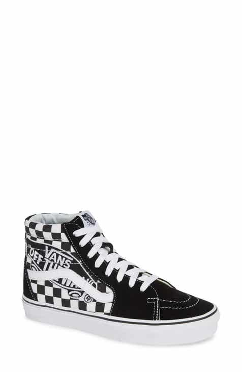 f88b990c26 Vans Sk8-Hi Patch High Top Sneaker (Women)