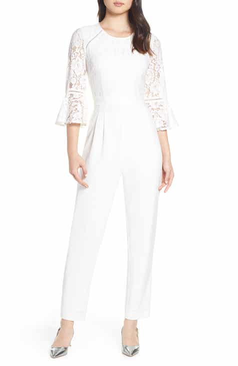 5d5064ba25bf Women s 3 4 Sleeve Jumpsuits   Rompers