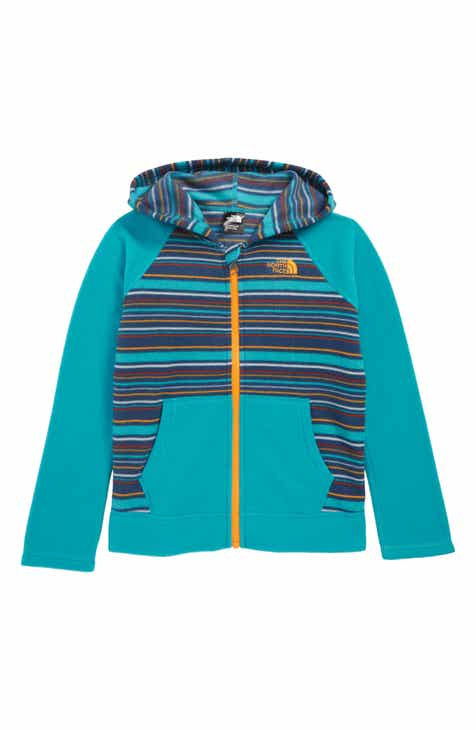 4fd18b86f551 The North Face Glacier Full Zip Hoodie (Toddler Boys   Little Boys)