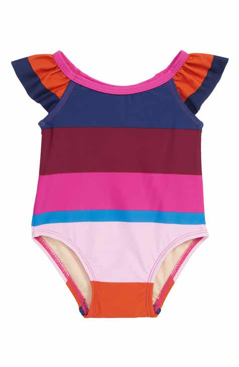 79cdd0338b Tea Collection Cabana Stripe One-Piece Swimsuit (Baby)