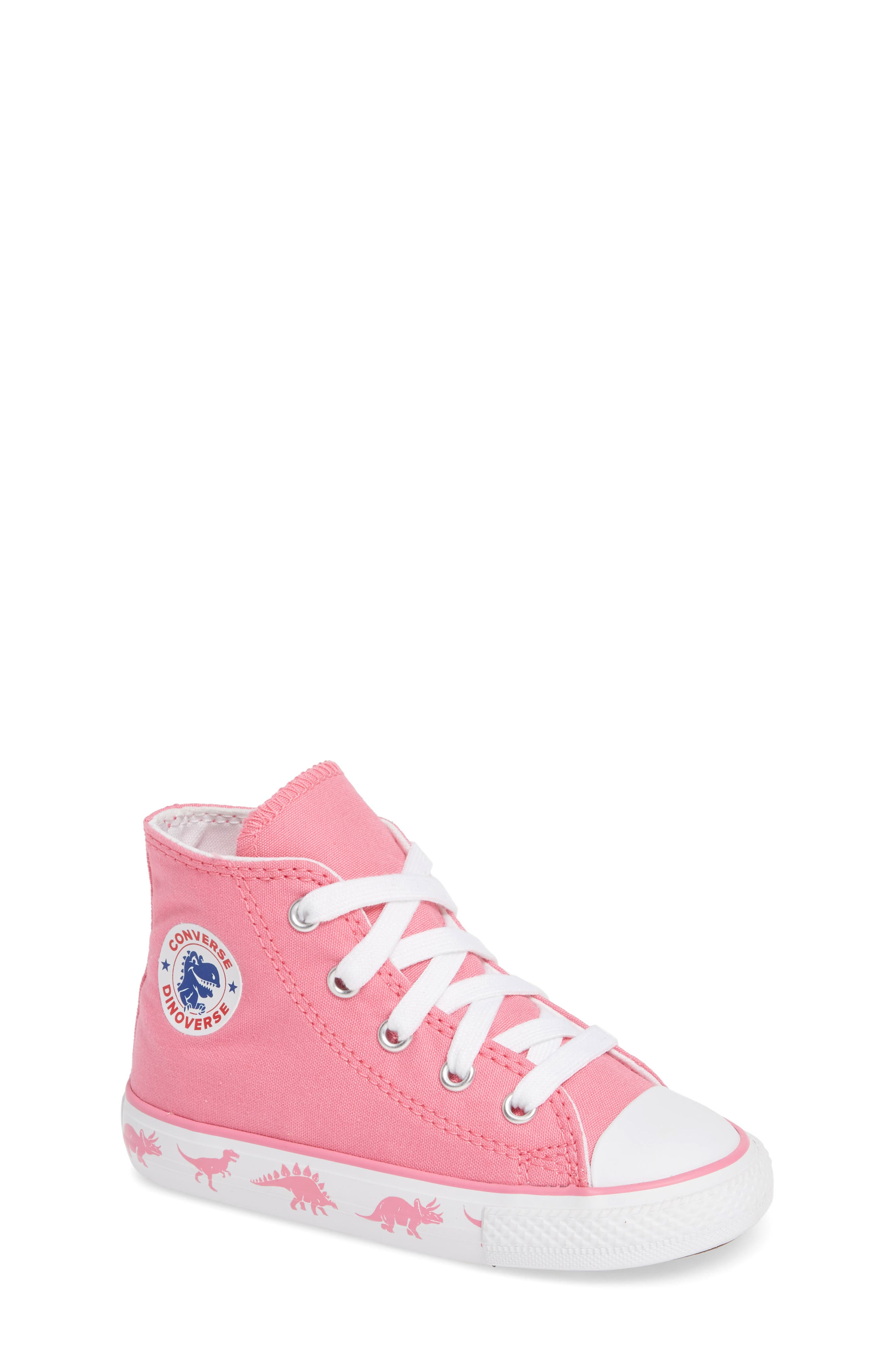 09702ec4ed12 ... germany converse chuck taylor all star dino high top sneaker baby  walker toddler little kid big