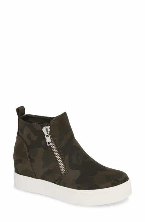 Steve Madden Wedgie High Top Platform Sneaker (Women) 74bc9e07d