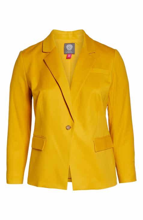 330442e67f3 Vince Camuto Lace-Up Back Blazer (Plus Size)
