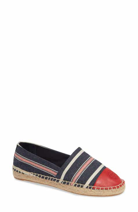 c4a9e2762b Tory Burch Colorblock Espadrille Flat (Women)