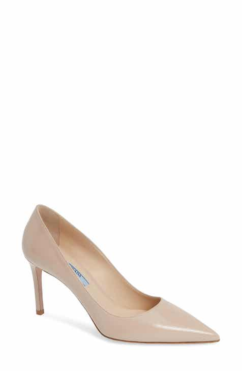 Prada Pointy Toe Pump (Women) 38a39c512