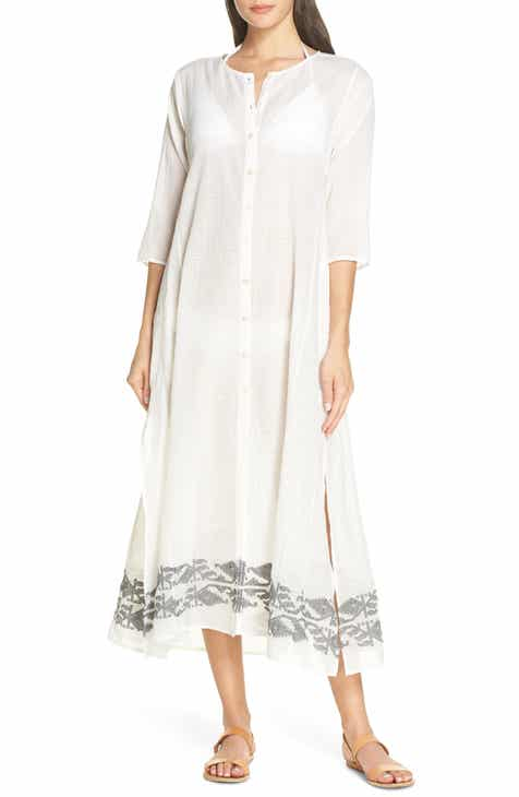 Roller Rabbit Jamdani Anu Cover-Up Dress