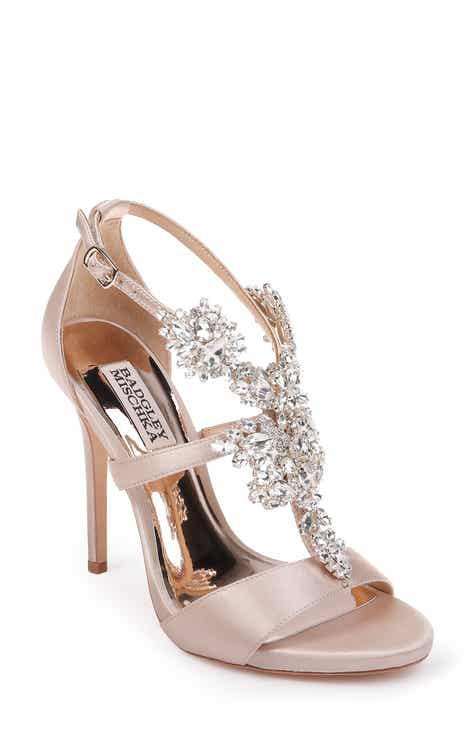 bd3f380814fd Badgley Mischka Leah Embellished Sandal (Women)
